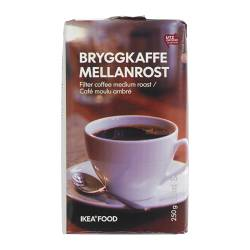 BRYGGKAFFE MELLANROST filter coffee, medium roast, Utz certified Net weight: 250 g