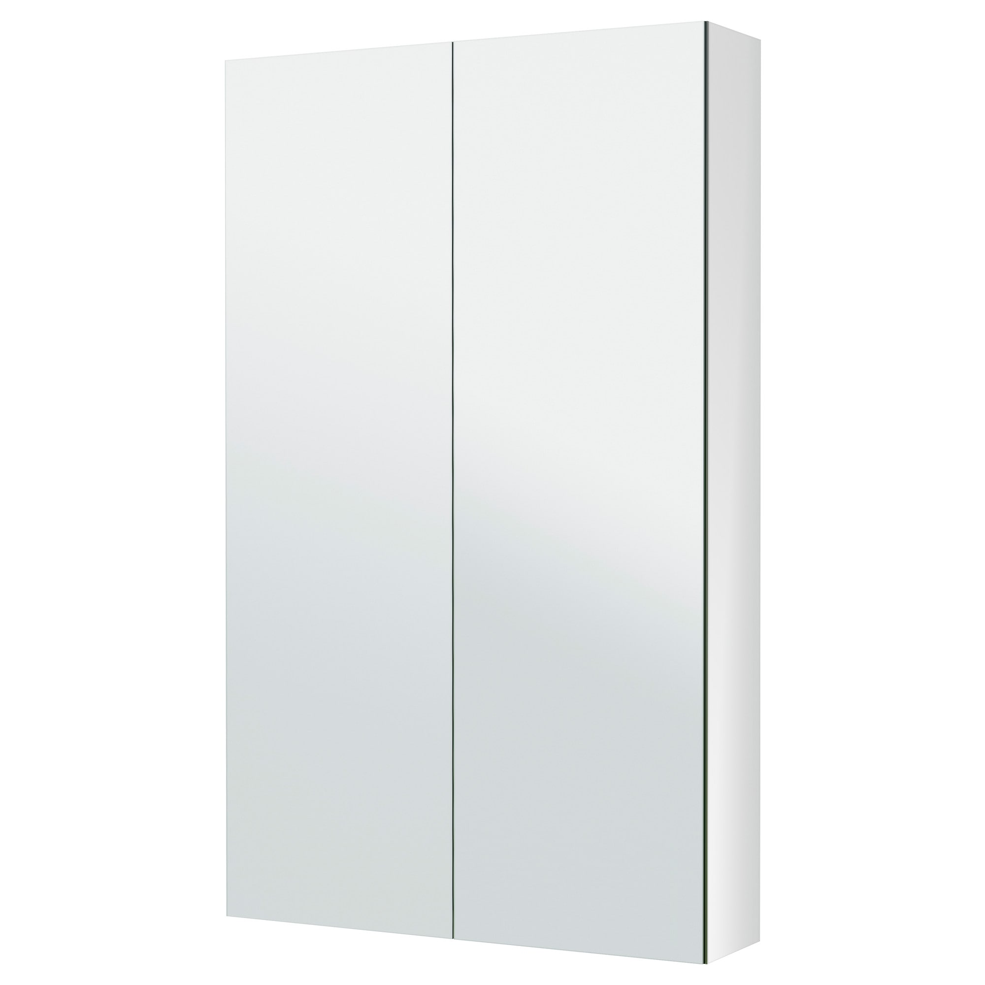 . GODMORGON Mirror cabinet with 2 doors     23 5 8x5 1 2x37 3 4     IKEA
