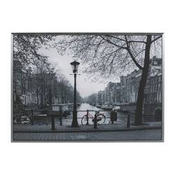 "VILSHULT picture, Amsterdam Width: 55 "" Height: 39 ¼ "" Width: 140 cm Height: 100 cm"