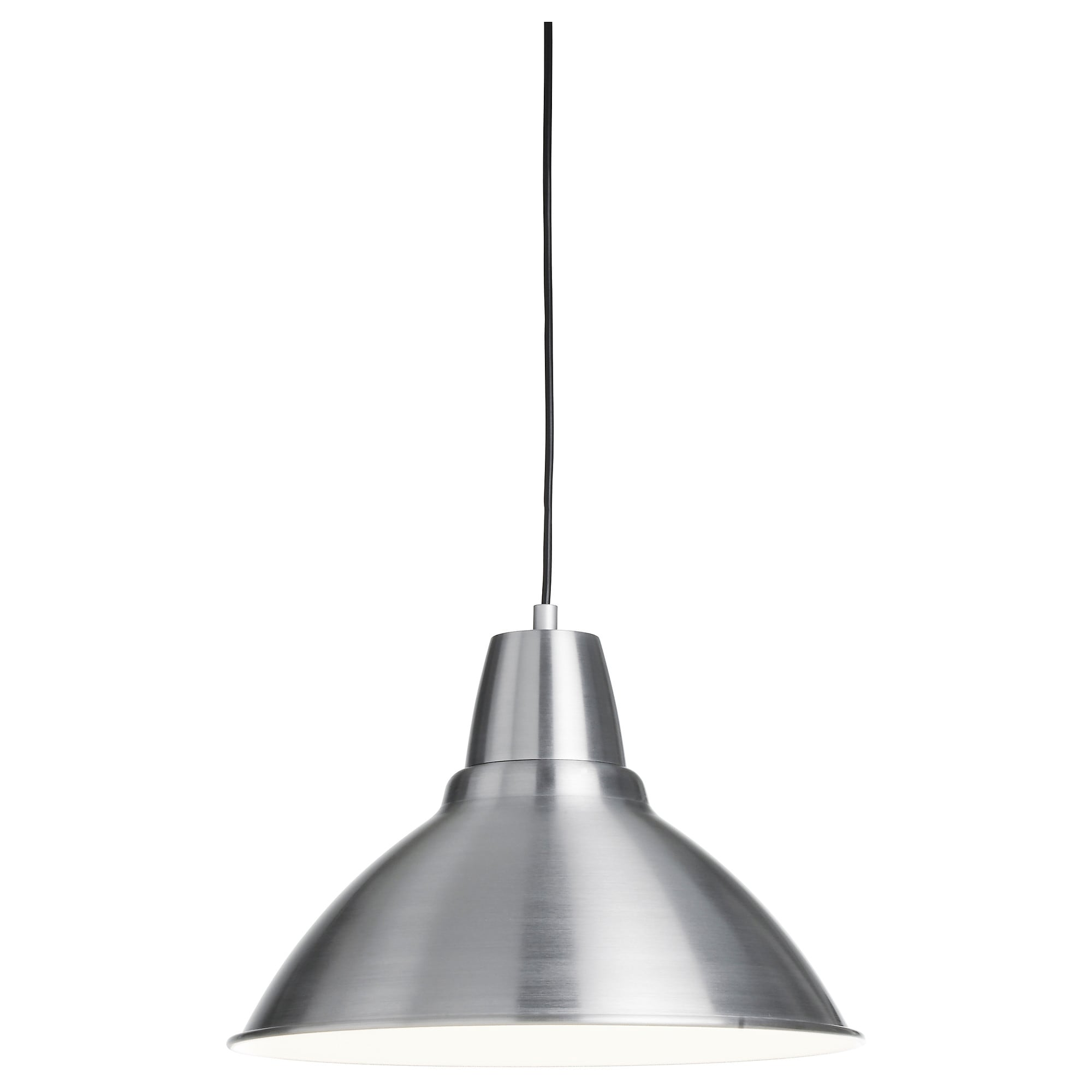 FOTO pendant lamp with LED bulb, aluminum Diameter: 15