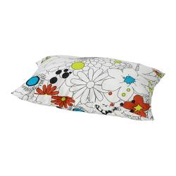 "ANJA Cushion multicolor Length: 12 "" Width: 18 "" Filling weight: 5 oz Total weight 1: 7 oz  Length: 30 cm Width: 45 cm Filling weight: 150 g Total weight 1: 186 g"
