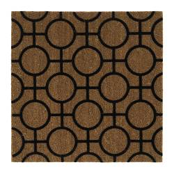 "TRAMPA door mat, natural Length: 2 ' 2 "" Width: 2 ' 2 "" Surface density: 18 oz/sq ft Length: 67 cm Width: 67 cm Surface density: 5477 g/m²"