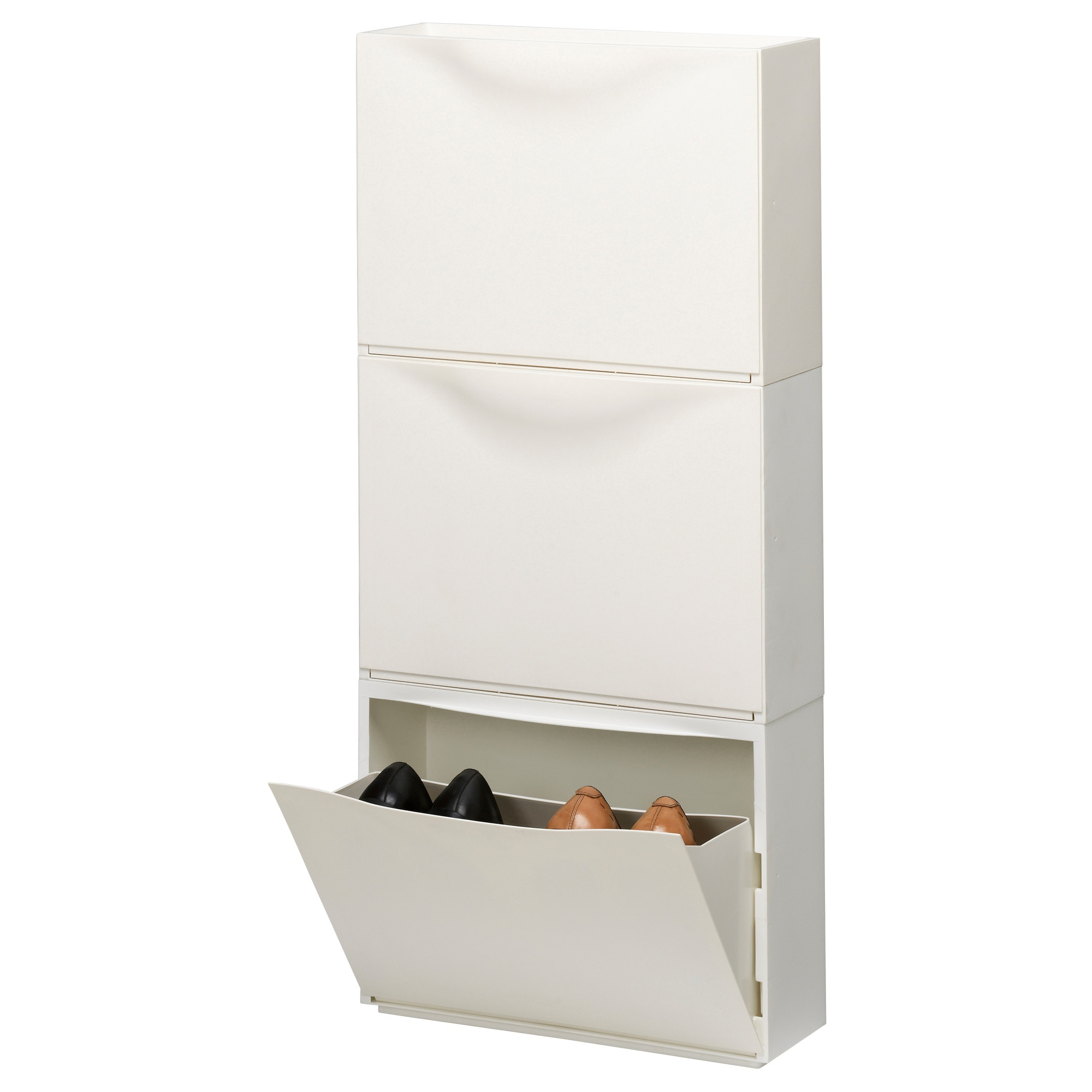 TRONES Shoe/storage cabinet - black - IKEA