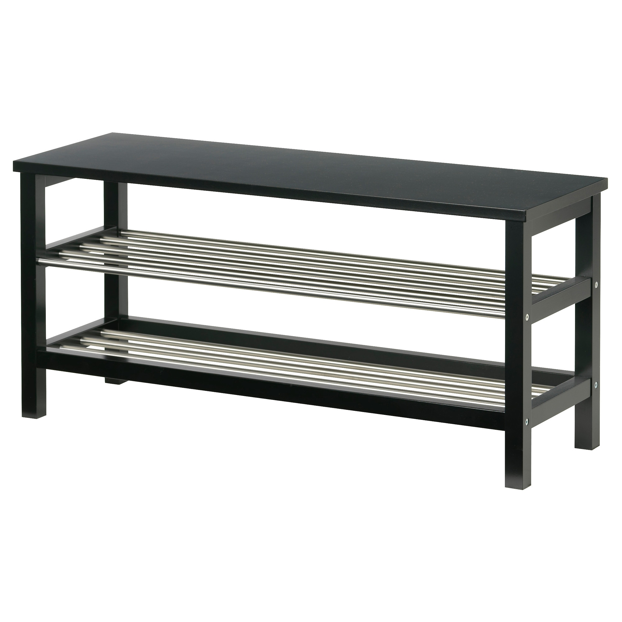 Design Ikea Shoe Racks tjusig bench with shoe storage black ikea