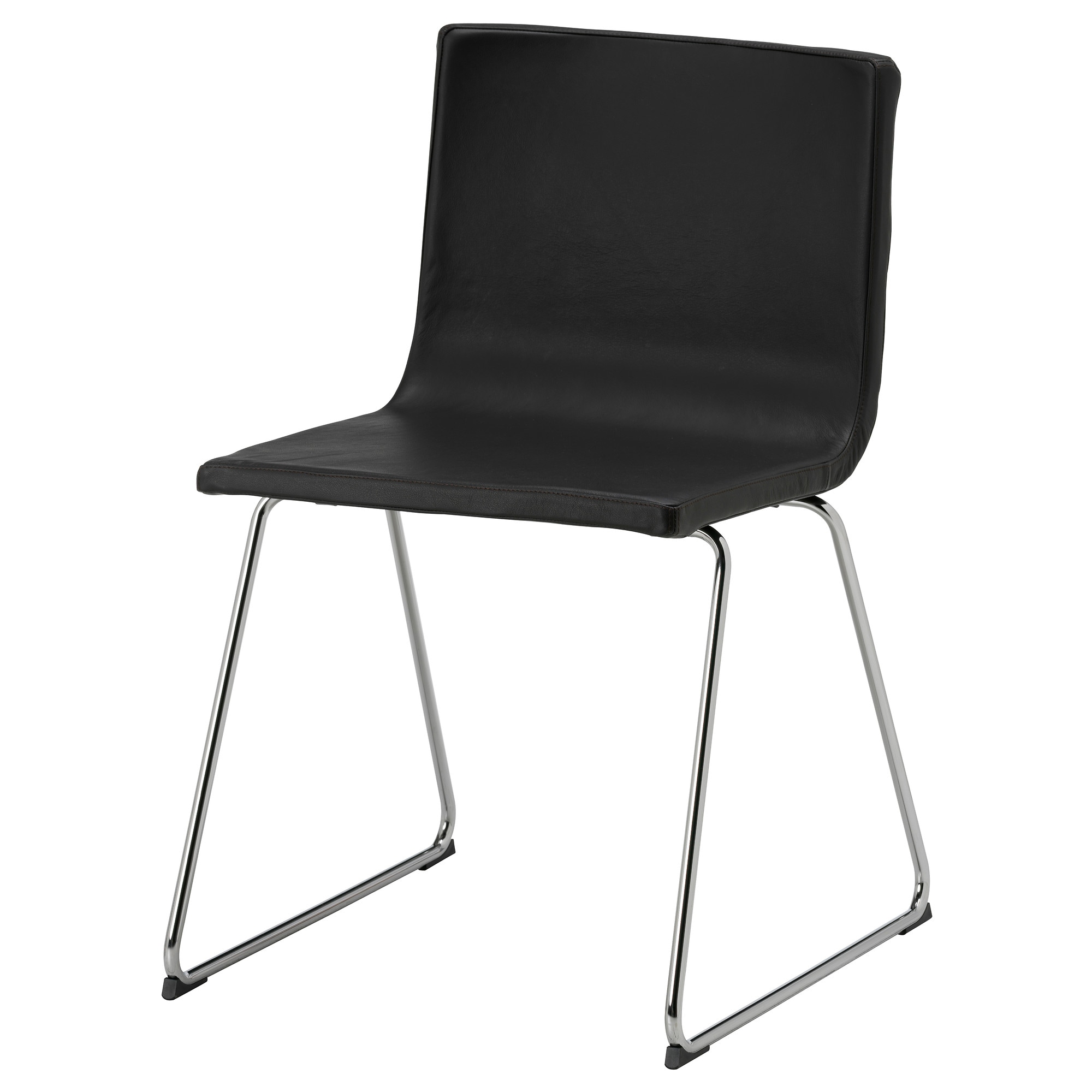 black furniture ikea. bernhard chair chrome plated mjuk kavat dark brown tested for 243 lb width black furniture ikea