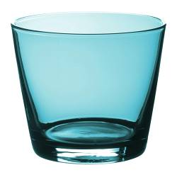 "DIOD glass, turquoise Height: 3 "" Volume: 8 oz Height: 8 cm Volume: 25 cl"