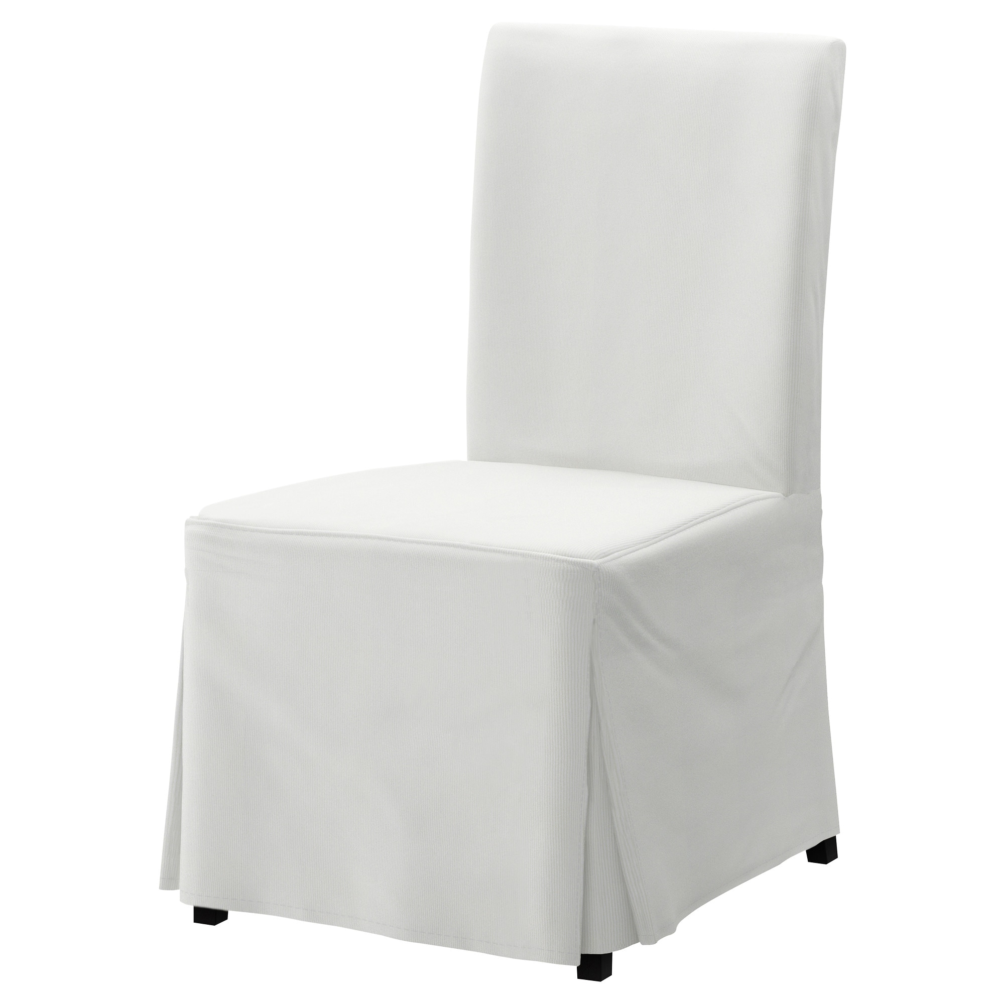 Superior HENRIKSDAL Chair With Long Cover   Blekinge White, Brown Black   IKEA