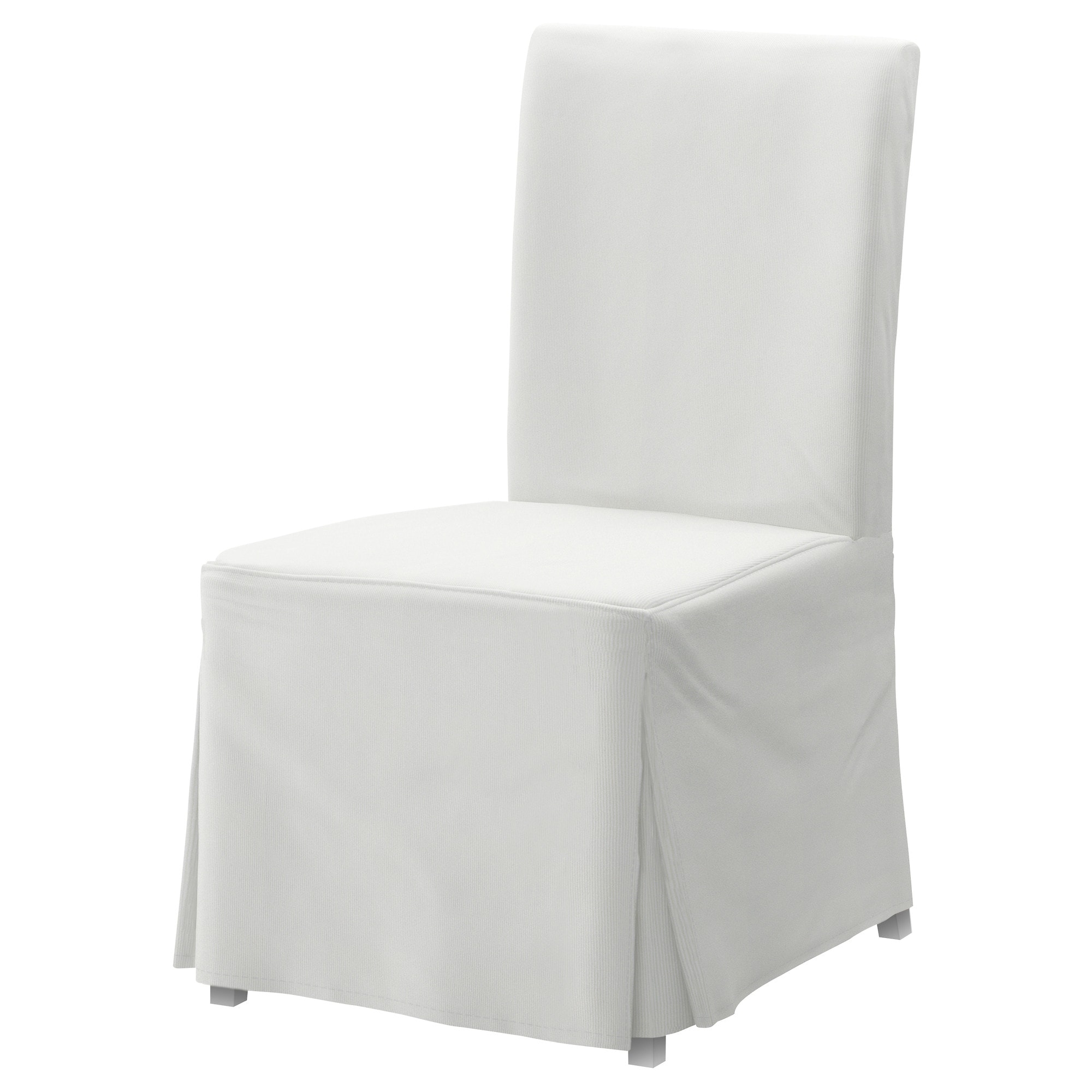 Superb HENRIKSDAL Chair With Long Cover   Blekinge White, White   IKEA