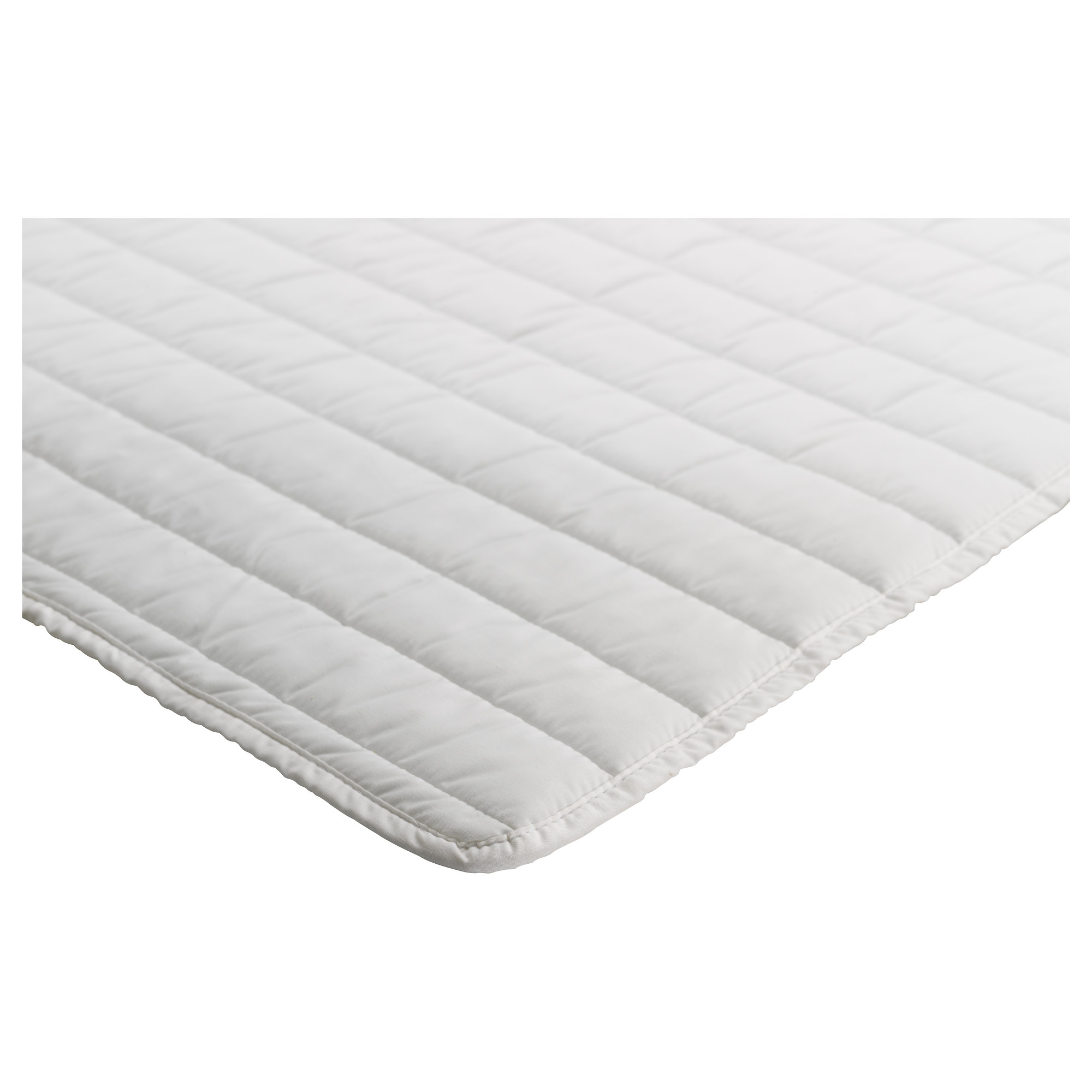 Surmatelas ikea for Ikea plaid polaire blanc