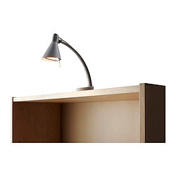"NON bookcase/picture lighting, silver color Length: 10 "" Height: 5 "" Cord length: 11 ' 6 "" Length: 26 cm Height: 13 cm Cord length: 3.5 m"
