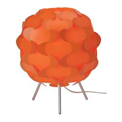 "FILLSTA table lamp, orange Diameter: 11 "" Height: 12 "" Cord length: 7 ' 10 "" Diameter: 27 cm Height: 31 cm Cord length: 240 cm"