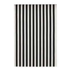 SOFIA fabric, black/white, broad-striped Width: 150 cm Pattern repeat: 64 cm