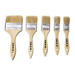 FIXA paint brush set Package quantity: 5 pack