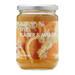 SYLT APELSIN & FLÄDER orange/elderflower jam Net weight: 425 g