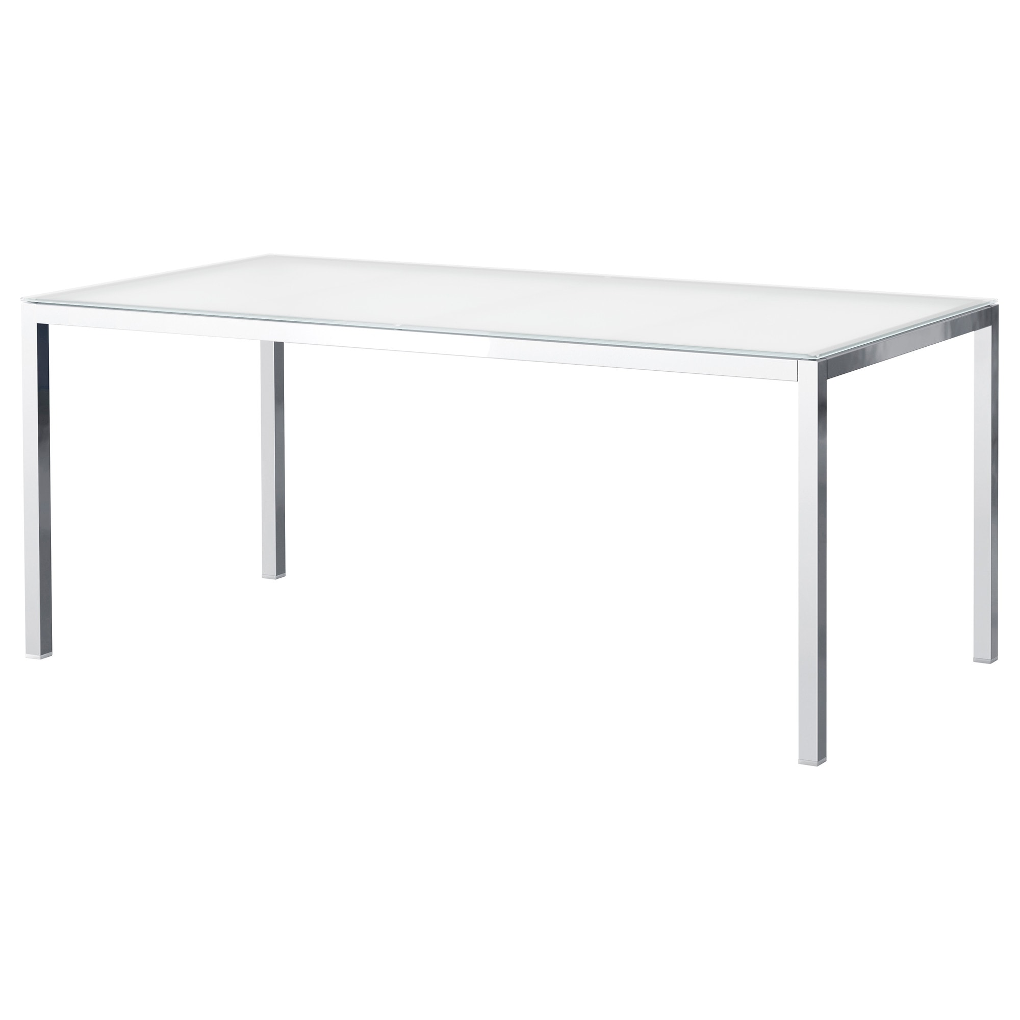 Table ronde plateau verre ikea for Table pied central ikea