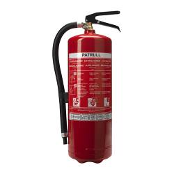 PATRULL fire extinguisher, dry powder Weight: 6 kg