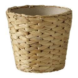 "FRIDFULL plant pot, water hyacinth Outside diameter: 6 "" Max. diameter inner pot: 4 ¾ "" Height: 5 "" Outside diameter: 15 cm Max. diameter inner pot: 12 cm Height: 13 cm"