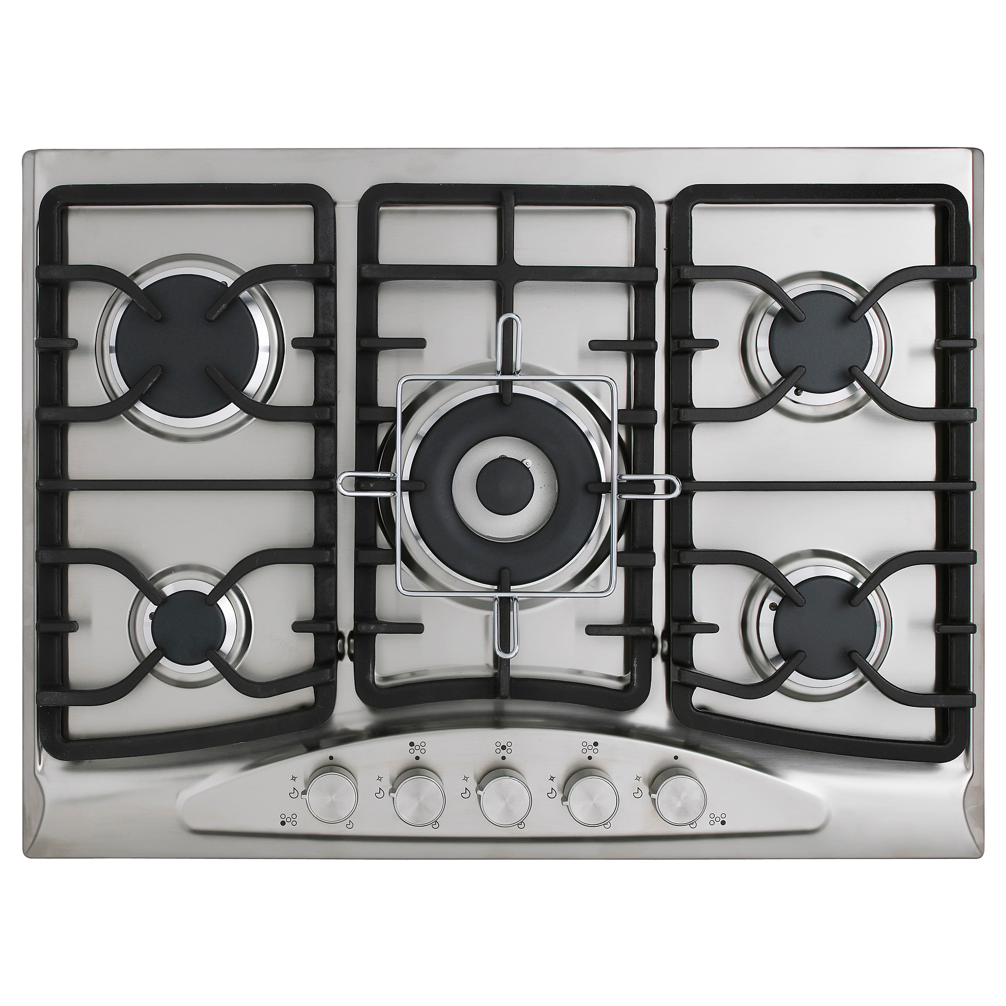 Gas Top Stove Electric Oven