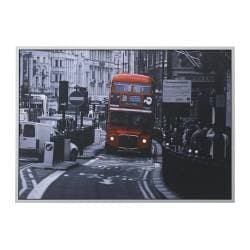 "VILSHULT picture, London bus Width: 55 "" Height: 39 ¼ "" Width: 140 cm Height: 100 cm"
