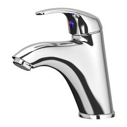 KRÅKSKÄR wash-basin mixer tap with strainer, chrome-plated Height: 15 cm