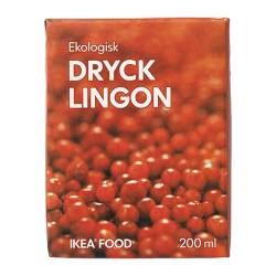 DRYCK LINGON lingonberry drink Volume: 200 ml