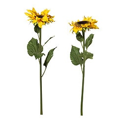 SMYCKA artificial flower, sunflower yellow Height: 70 cm