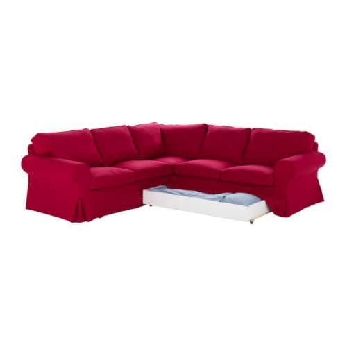 Foldable Corner sofa bed from Ikea from ikea.com
