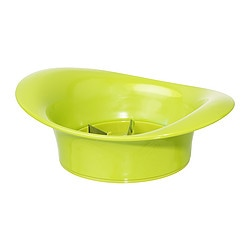 SPRITTA apple slicer, green Diameter: 10 cm Height: 6 cm
