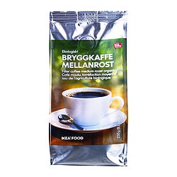 BRYGGKAFFE MELLANROST ground coffee, medium roast, UTZ certified Net weight: 8.8 oz Net weight: 250 g