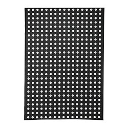 LIALOTTA plastic-coated fabric, black/white Width: 145 cm Pattern repeat: 16 cm