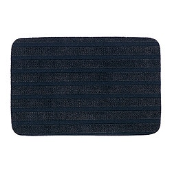 "BORRIS door mat, dark blue Length: 1 ' 10 "" Width: 1 ' 3 "" Surface density: 4 oz/sq ft Length: 57 cm Width: 38 cm Surface density: 1150 g/m²"