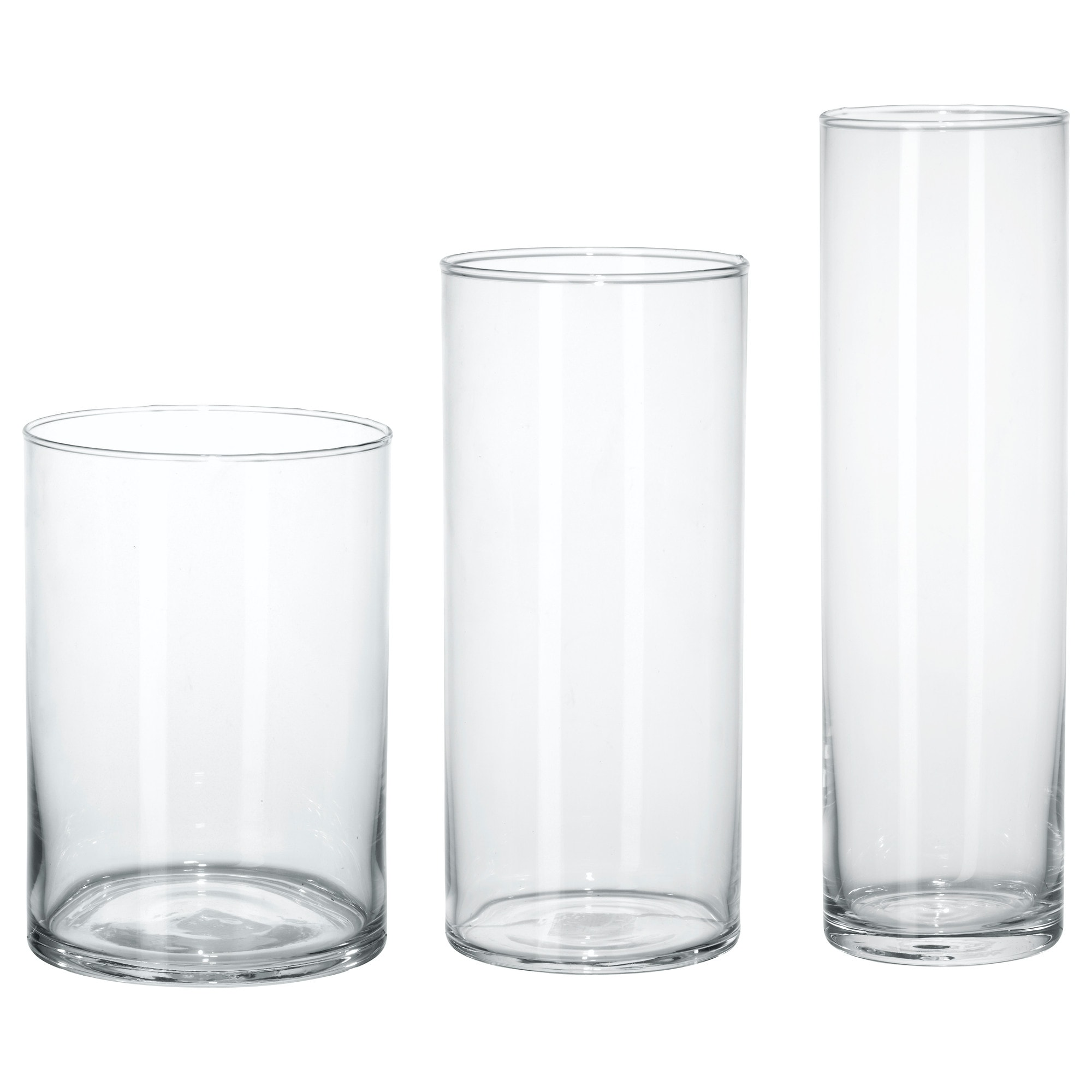 Glass vases decorative bowls ikea cylinder vase set of 3 reviewsmspy