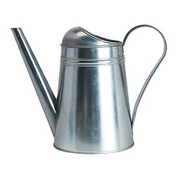 SOCKER watering can, galvanised, in/outdoor galvanised Height: 15 cm Volume: 2.6 l