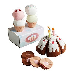 DUKTIG 18-piece dessert set