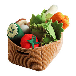 DUKTIG, 14-piece vegetables set