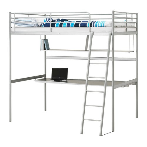 Bunk Bed With Desk Under Plans