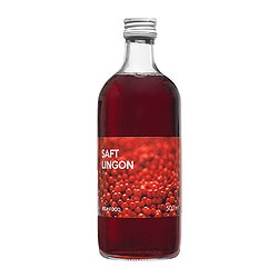 SAFT LINGON lingonberry syrup Volume: 500 ml