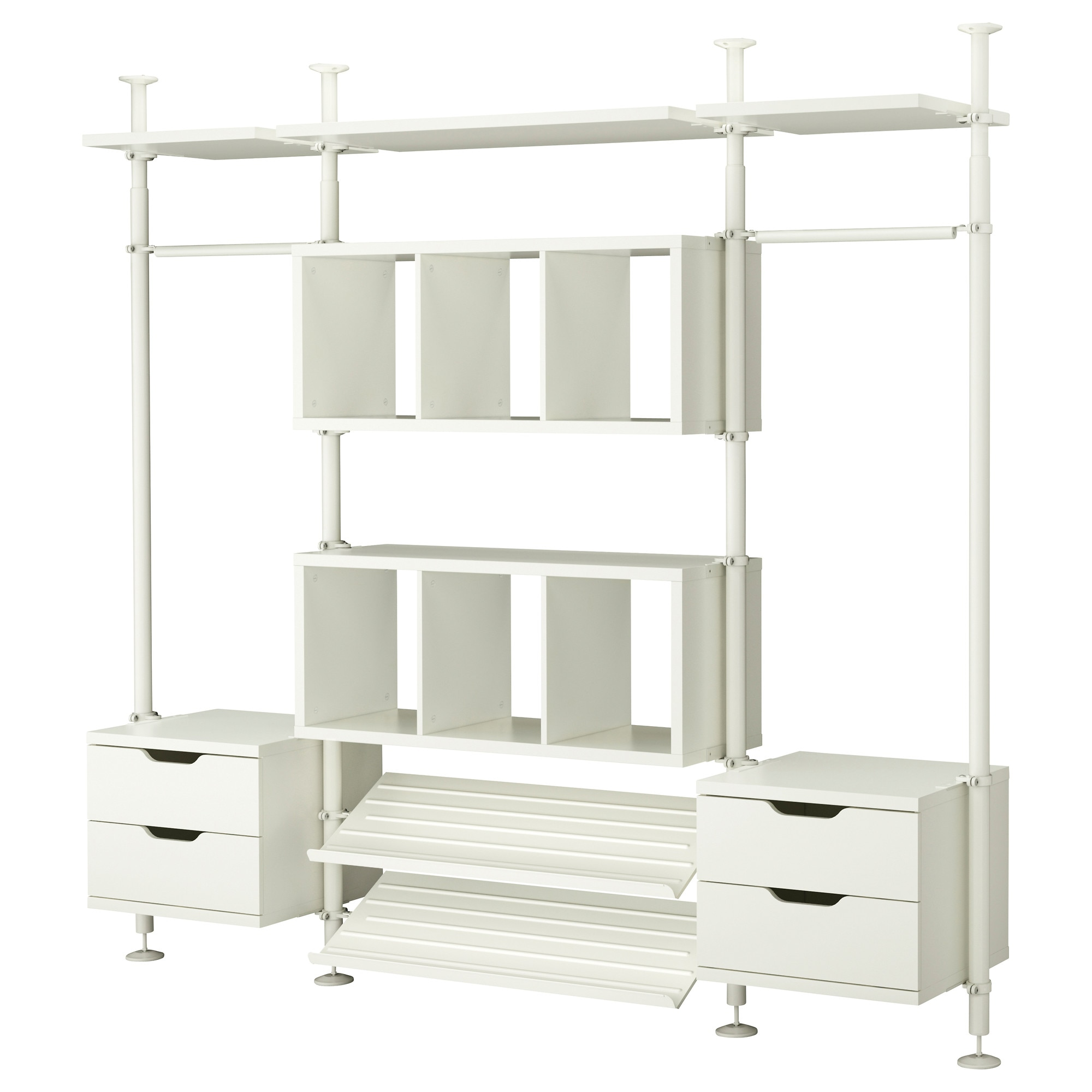 Closet organizer ikeaconfession for Wardrobe organizer ikea