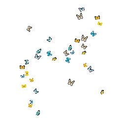 SLÄTTHULT decoration stickers, butterflies