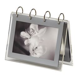 FINLIR picture holders, transparent Picture, width: 15 cm Picture, height: 10 cm Height: 16 cm