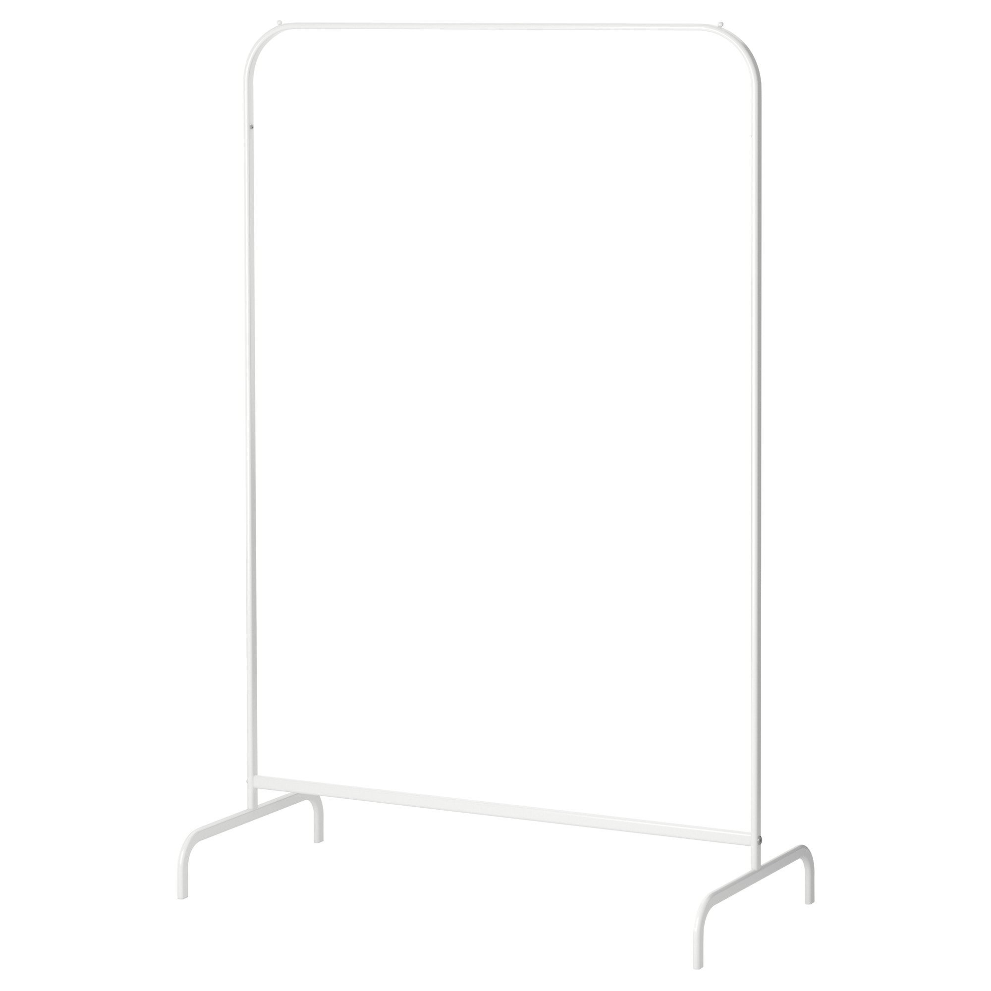 MULIG clothes rack, white Width: 39