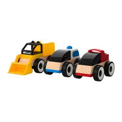 LILLABO toy vehicle, assorted colours Package quantity: 3 pieces