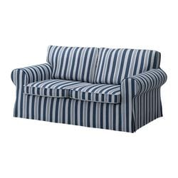 EKTORP loveseat cover, Åbyn blue