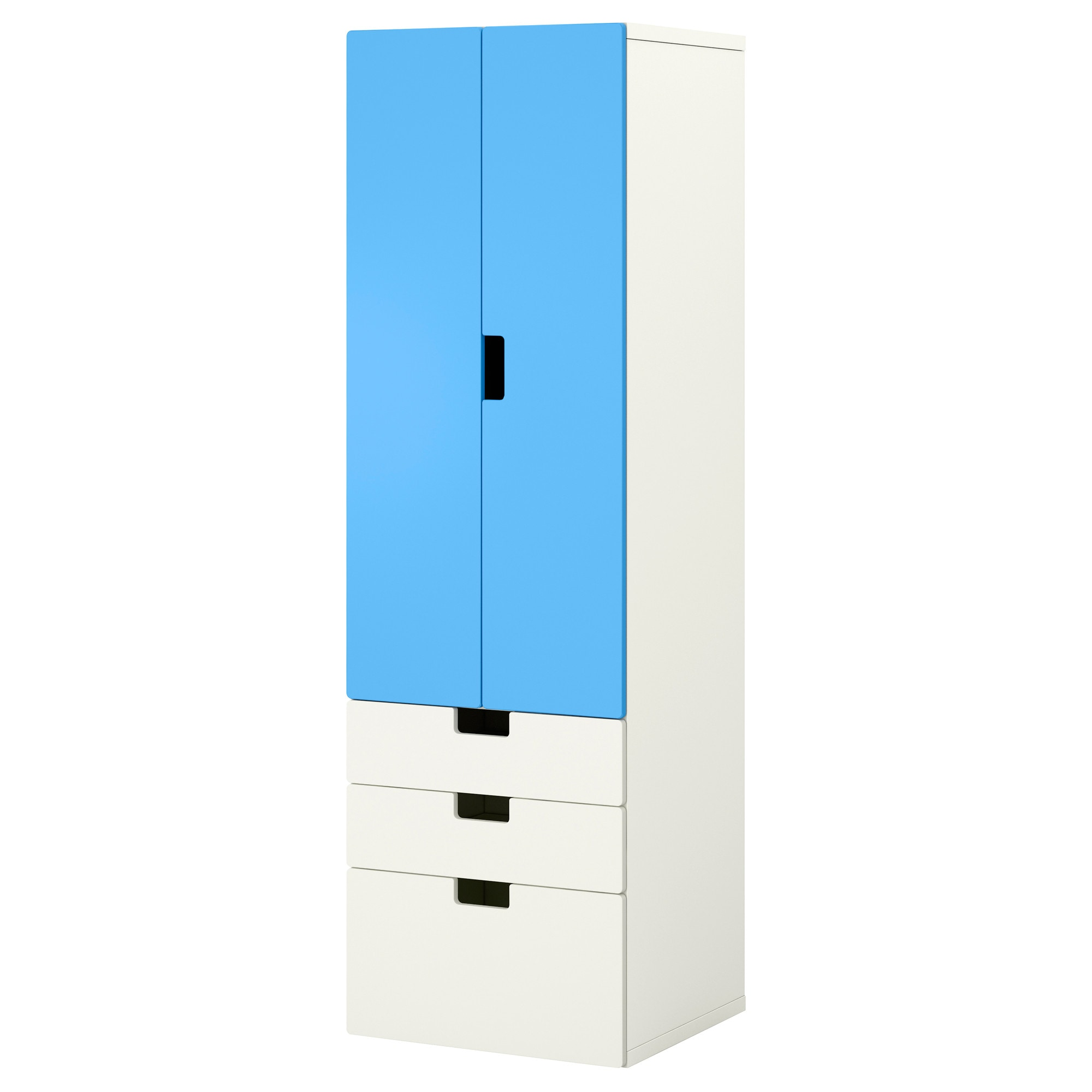 stuva combi rgt blanc bleu largeur cm profondeur with ikea meuble rangement enfant. Black Bedroom Furniture Sets. Home Design Ideas