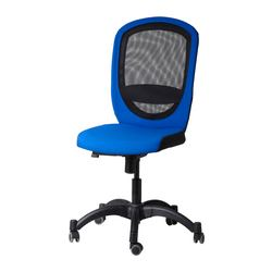 VILGOT swivel chair, blue Tested for: 110 kg Width: 74 cm Depth: 69 cm