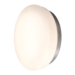 GÅSGRUND ceiling/wall lamp, opal white Diameter: 40 cm