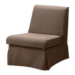 SANDBY armchair cover, Blekinge brown
