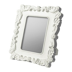 KVILL frame, white Frame, height: 27 cm Picture, width: 13 cm Picture, height: 18 cm