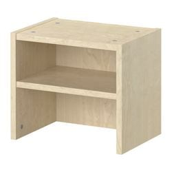 BILLY height extension unit, birch veneer Width: 40 cm Depth: 28 cm Height: 35 cm