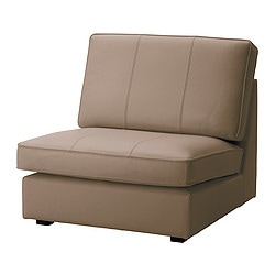 KIVIK one-seat section, Grann beige Width: 91 cm Depth: 95 cm Height: 83 cm